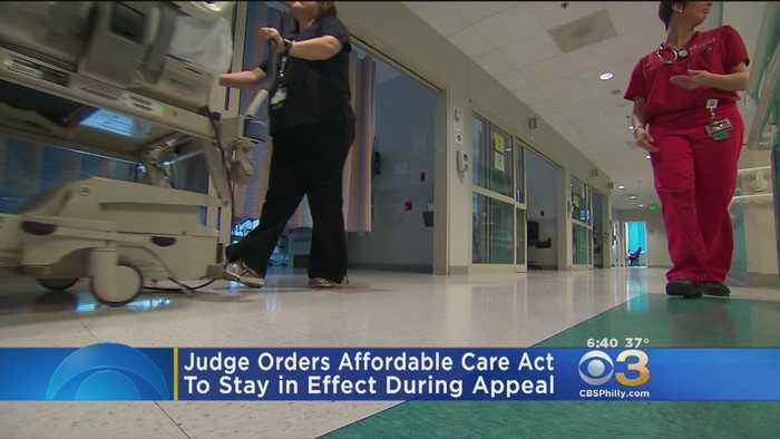 Judge Orders Affordable Care Act To Stay In Effect During Appeal