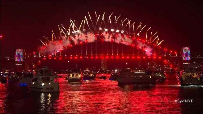 Australia brings in the New year