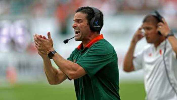 Former Hurricanes defensive coordinator Manny Diaz hired as new head coach