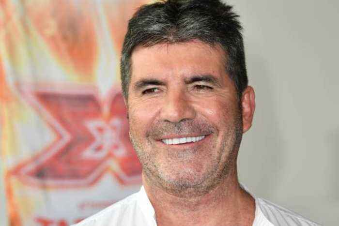 Simon Cowell rescues stray dog