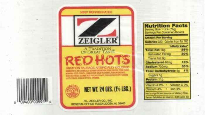 Sausage Products Recalled Due to Metal in Meat