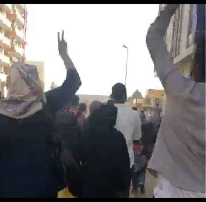 Protesters Face Tear Gas in Demonstrations in Khartoum