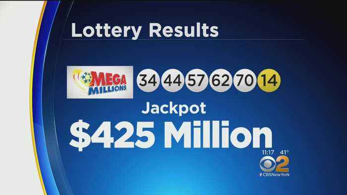 New Year's Day Mega Millions Numbers Drawn