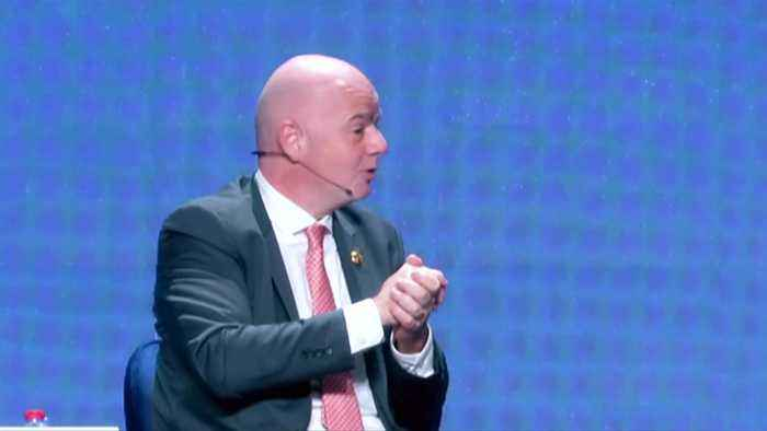 FIFA should expand 2022 World Cup to 48 teams if possible -Infantino