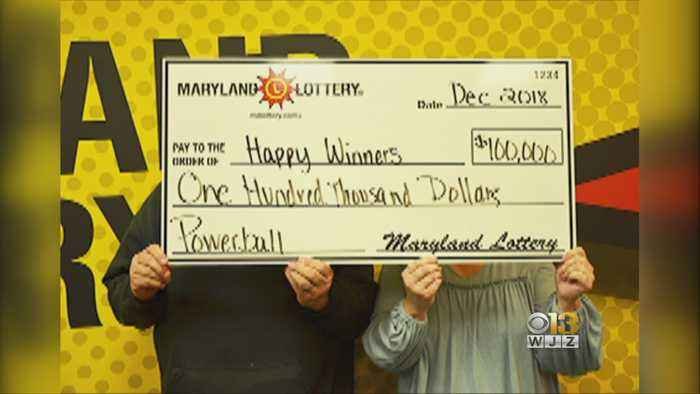 'Happy Winners' Net $100K Powerball Prize Just Before New Year