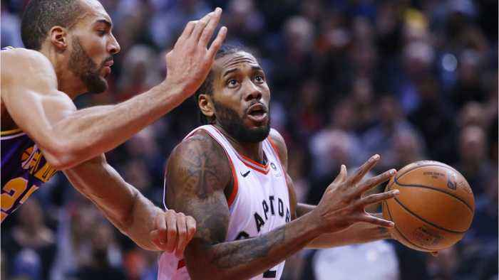 Kawhi Leonard Tunes Out Jazz Defense Scoring Career High