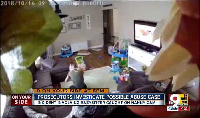 Mom surprised by babysitter's treatment of infant son caught on hidden camera