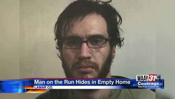 Man on the Run Hides in Empty Home