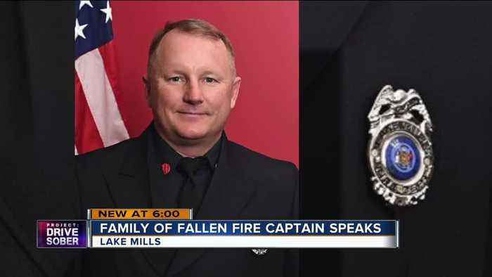Family of Lake Mills firefighter says he died a hero