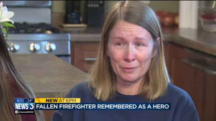 Firefighter killed in crash told fiancee 'I just just want to be remembered as a hero'