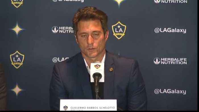 Schelotto 'happy and excited' to be new Galaxy head coach