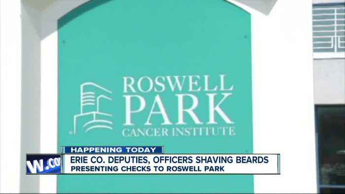 Erie County Sheriff's Office to present Roswell Park Cancer Institute with money raised from No-Shave November