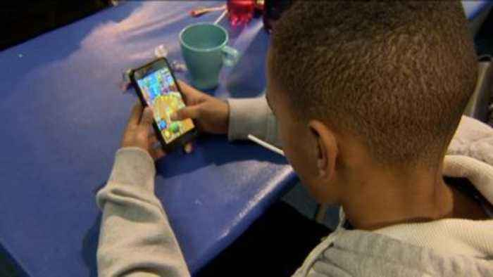 Parents told to worry less about children's screen time.