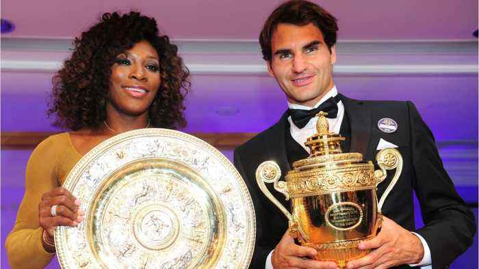 Roger Federer Tried To Gift Serena Williams A Racket, But 'She Wasn't Sure If She Was Allowed To Keep It'