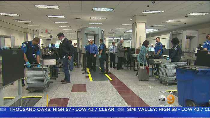 Hundreds Of TSA Screeners Working Without Pay Call Out Sick At Major Airports