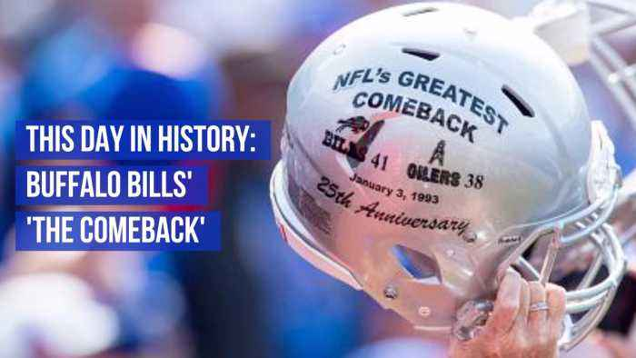 Reliving The Famous Buffalo Bills Comeback Of 93