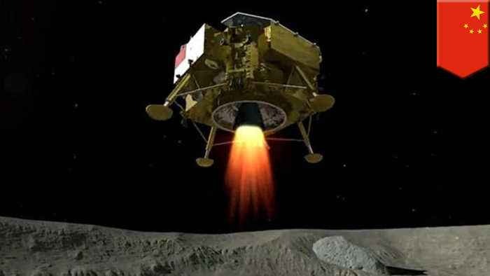 China's Chang'e spacecraft is first to land on far side of the moon