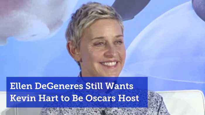 Ellen Pushes For Kevin Hart To Still Host The Oscars