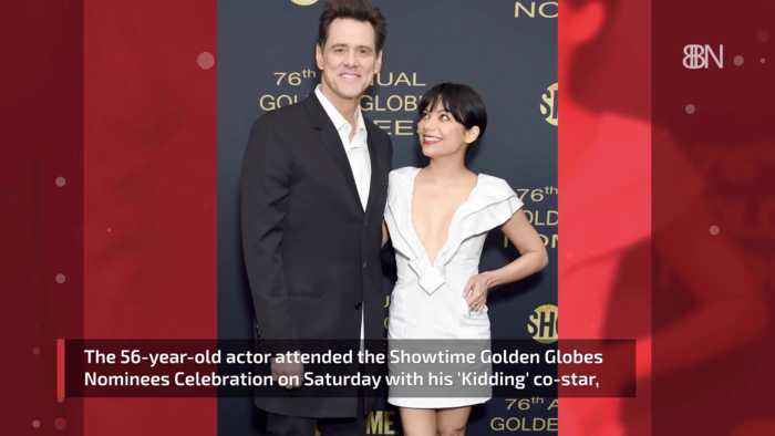 Jim Carrey Comes Out At The Golden Globes With Ginger Gonzaga