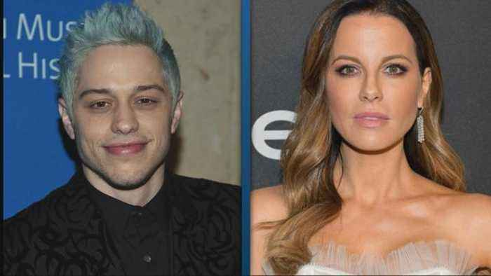 Pete Davidson and Kate Beckinsale Cozy Up at Golden Globes After-Party