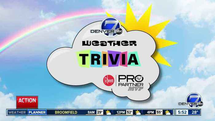 Weather trivia on Jan. 7, 2019