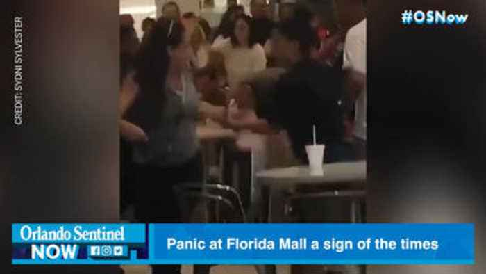 Panic at Florida Mall a sign of the times in era of heightened mass-shooting fears, experts say
