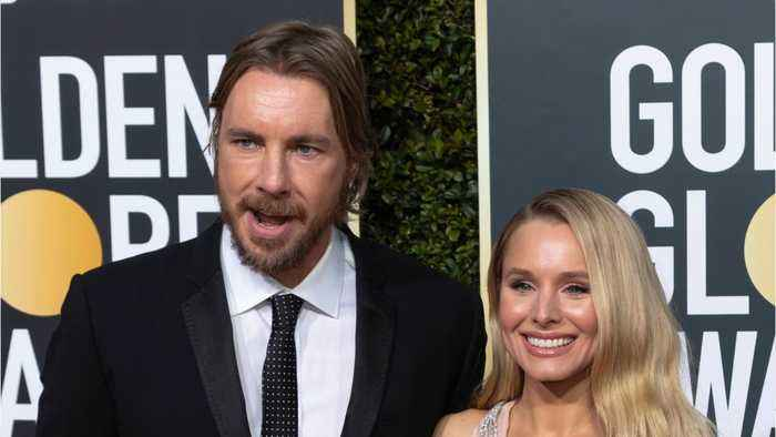 Dax Shepard And Kristen Bell Share Behind The Scenes Golden Globes Moments