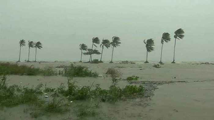 Damage as tropical storm hits Thailand's east coast