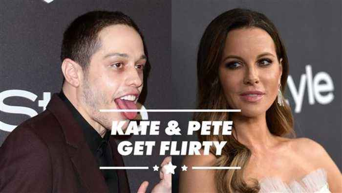 Kate Beckinsale flirting with Pete Davidson is no surprise