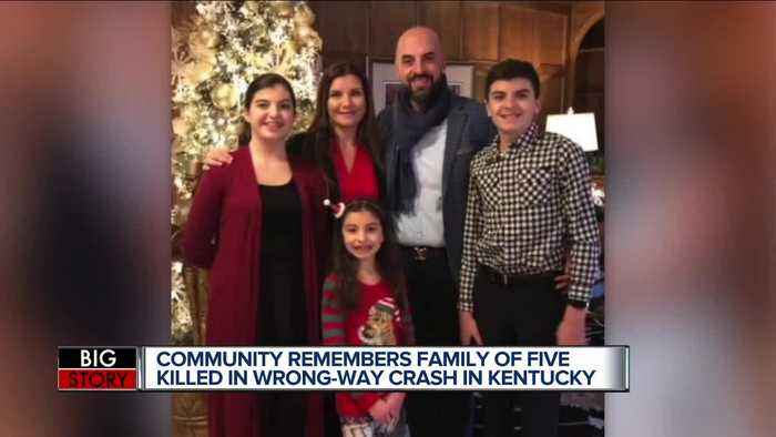 Community mourning loss of Northville family of 5 killed in wrong-way crash in Kentucky