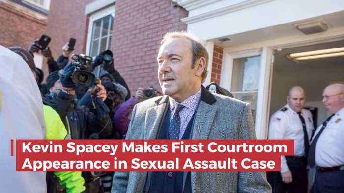 Kevin Spacey Shows Up In Court Today To face Charges
