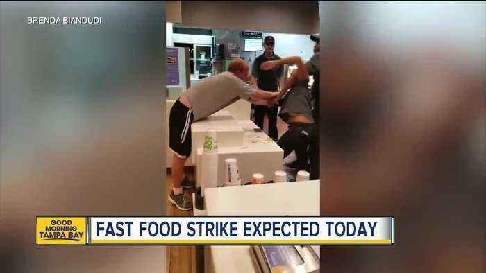 McDonald's employees expected to strike on Tuesday after viral video