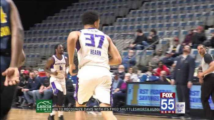 Reggie Hearn Relishes Opportunity to Play at Home