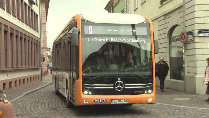 Mercedes-Benz eCitaro - Fully-electrical Mercedes-Benz city buses for Mannheim and Heidelberg