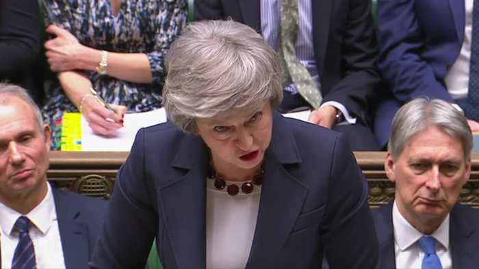 UK PM May says parliament will vote on implementation period extension