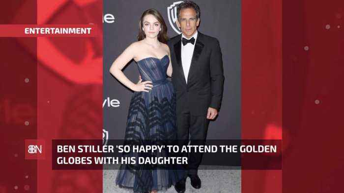 Ben Stiller Had The Best Date For The Golden Globes: His Daughter