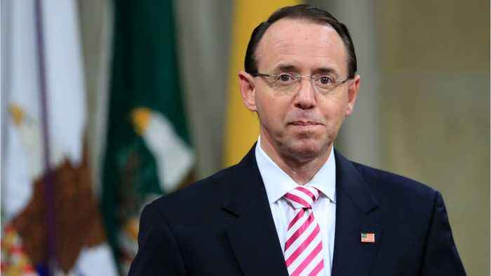 U.S. Official Rosenstein, Overseeing Russia Probe, to Leave