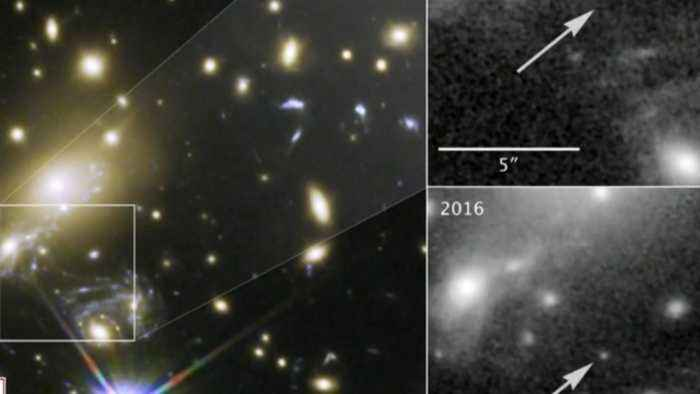 Astronomers detect mysterious bursts of radio signals from distant galaxy