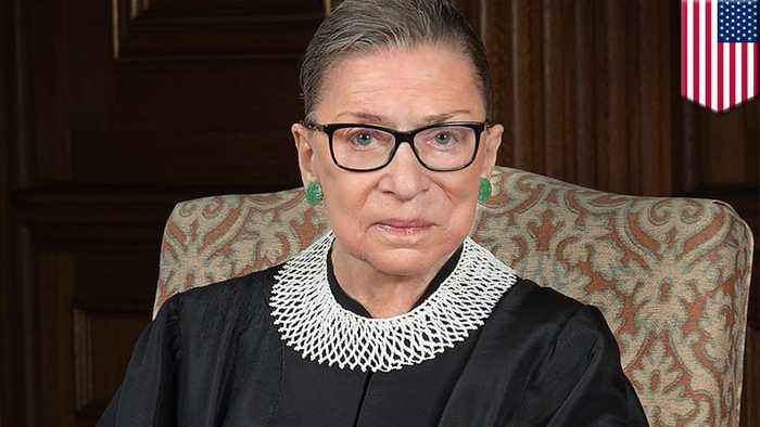 Supreme Court's Ginsburg misses oral arguments while recovering