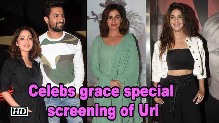 Celebs grace special screening of Uri: The Surgical Strike