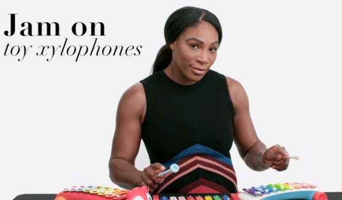 Serena Williams Tries Nine Things She's Never Done Before