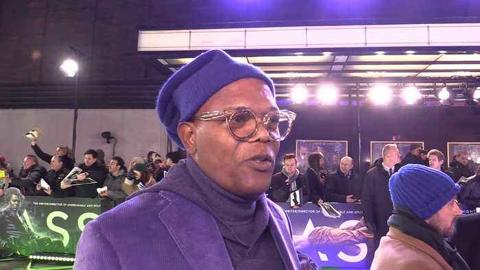 Samuel L. Jackson opens up about his role in the movie 'Glass'