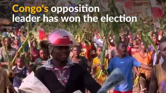 Congo's opposition leader wins chaotic presidential election