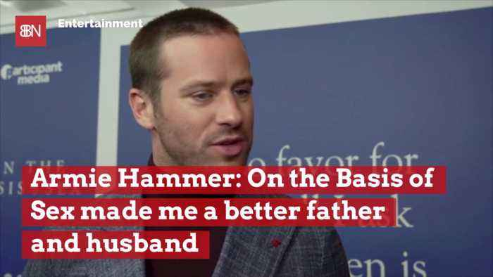 On The Basis Of Sex Had A Real Life Effect On Actor Armie Hammer