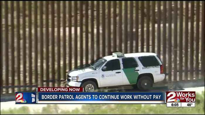 Border patrol agents to continue work without pay