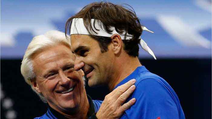 Federer Would Play Bjorn Borg 'If I Could Go Back In Time'