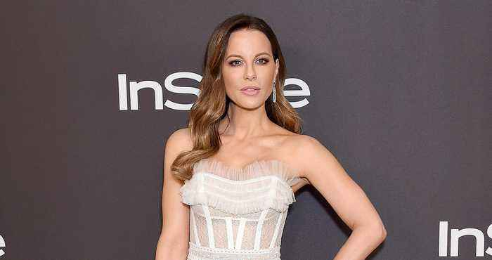 Kate Beckinsale Ribs Fan Shading Her for Chatting Up Pete Davidson at Golden Globes Afterparty