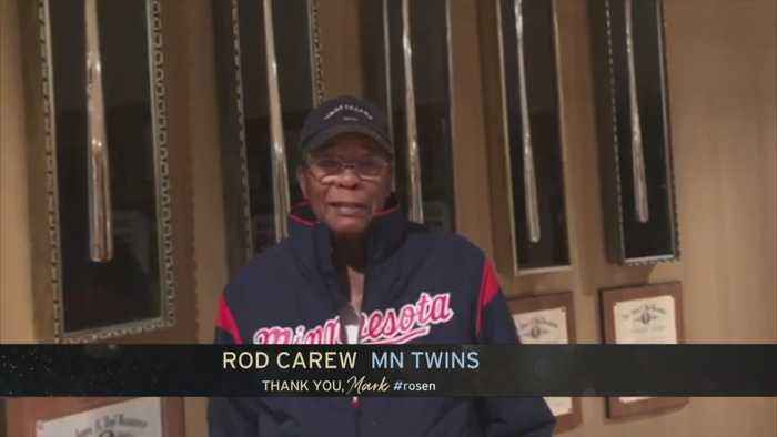 Rod Carew Salutes Mark Rosen's 50 Years With WCCO