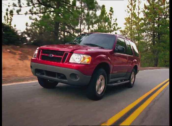 Ford Explorer Through the Years