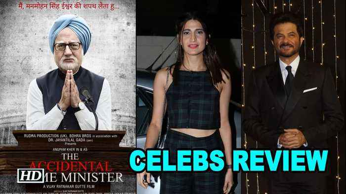 CELEBS REVIEW 'The Accidental Prime Minister' | Anupam Kher